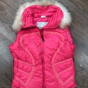 Jackets & Blazers - Jet Set Size 3 / Large Pink Ski Vest